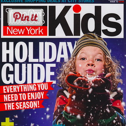 """Holiday Sales"" Time Out New York Kids - December 2011"