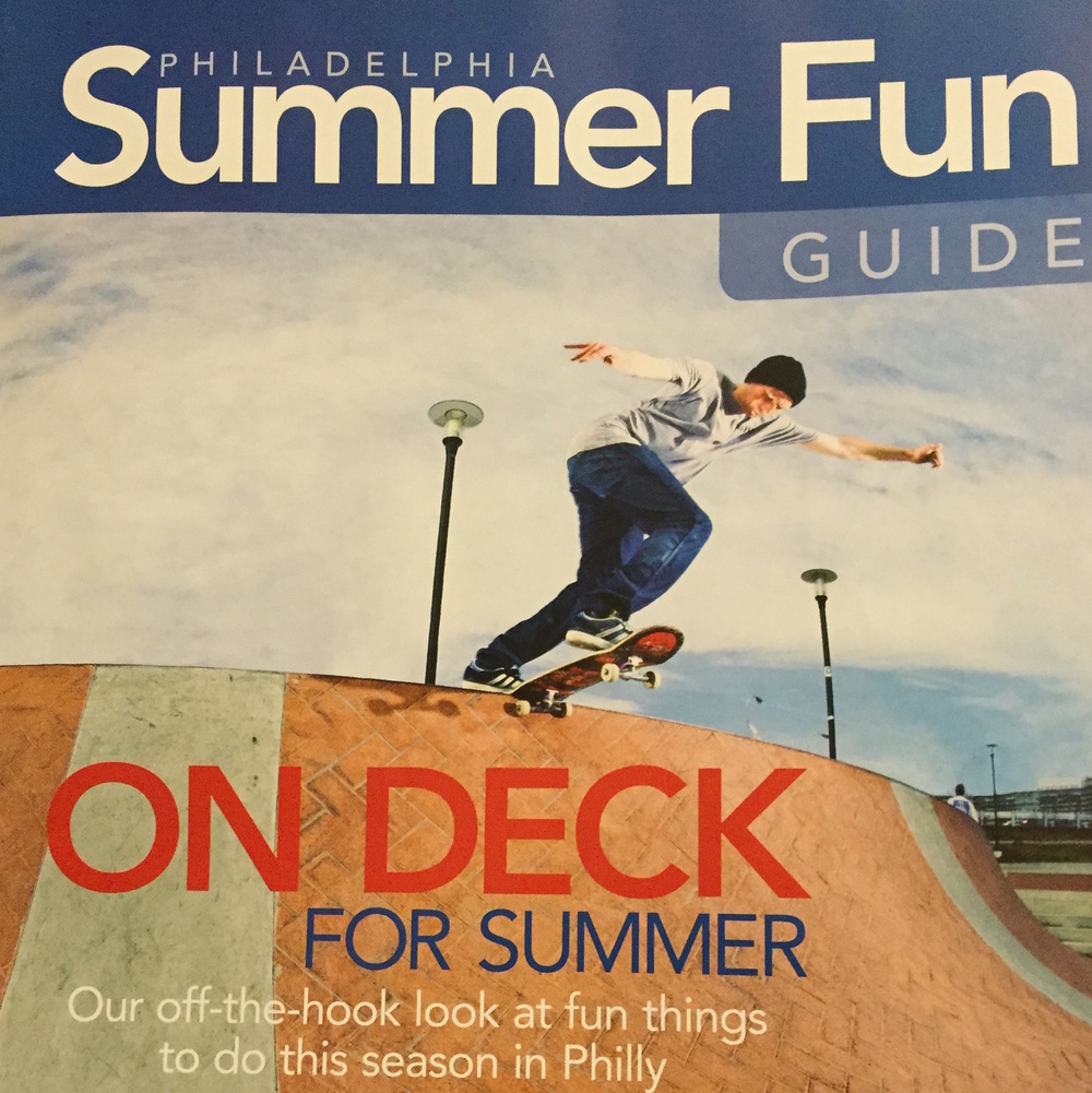 Several Articles Where Philadelphia Summer Fun Guide - 2014