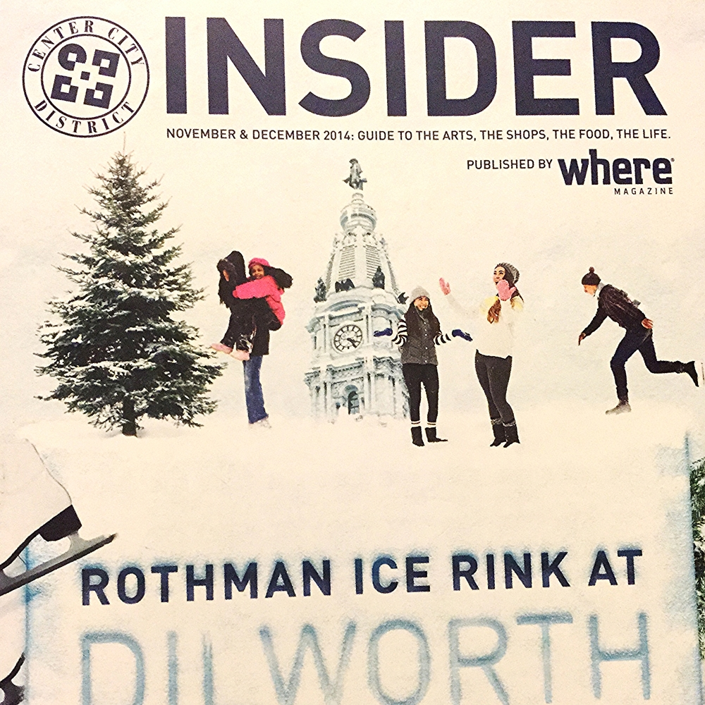 """'The Holidays in Philadelphia: A Traveler's Guide"" Center City Insider - November/December 2014"