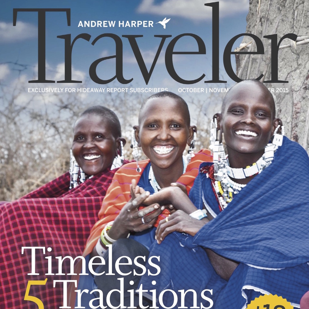 """Medieval Pursuits"" Harper Traveler - Oct/nov/dec 2015"