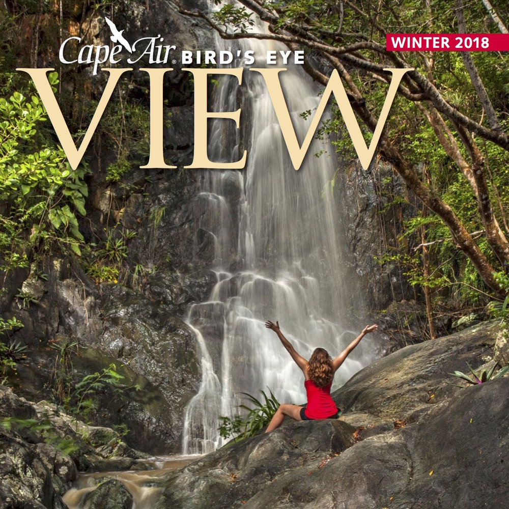 """Vieques Welcomes You"" Bird's Eye View - Winter 2018"