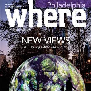Several Articles Where PHiladelphia - 2018 Issues and ONLINE