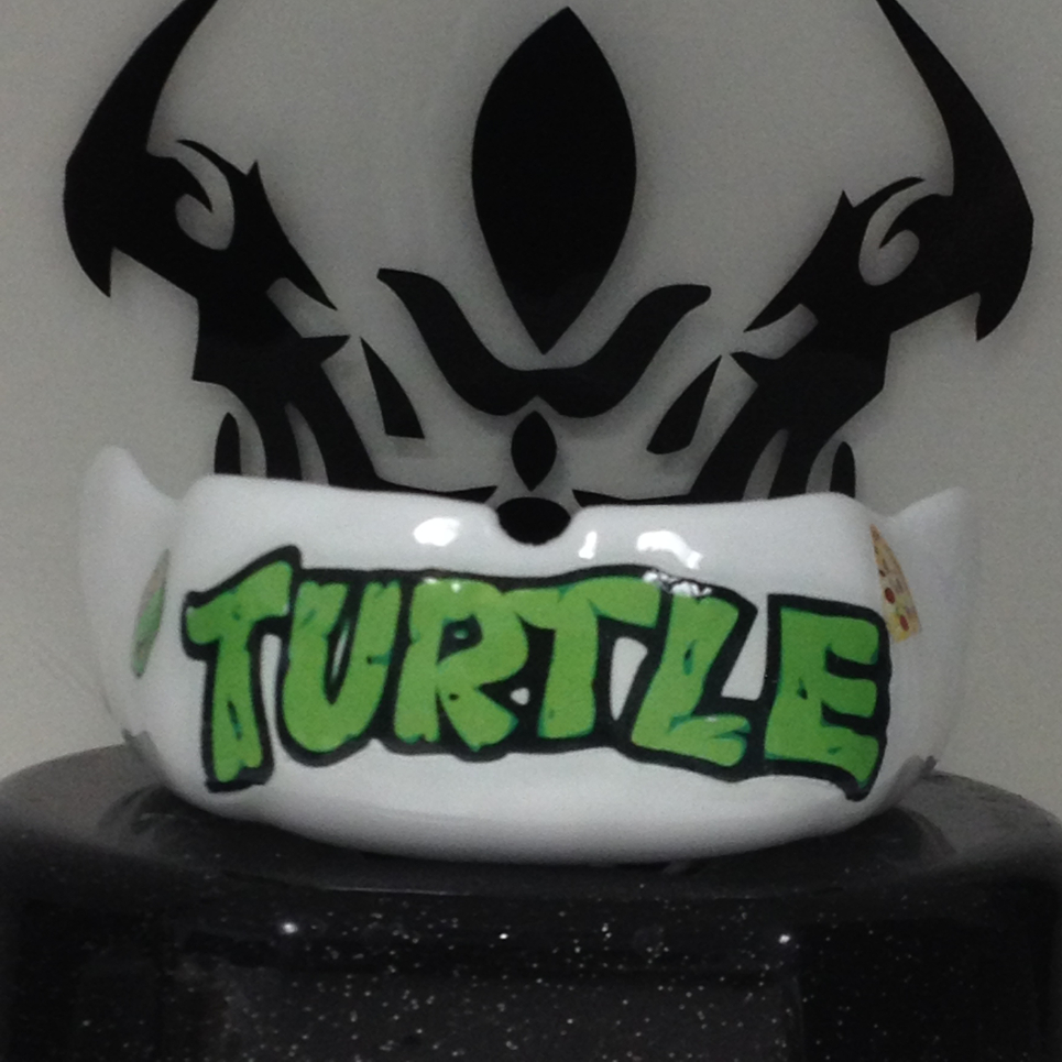 $160 Python Mouthguard with color graphics