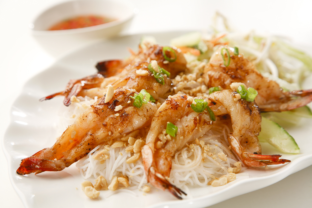 Vietnamese Vermicelli w/ Shrimp
