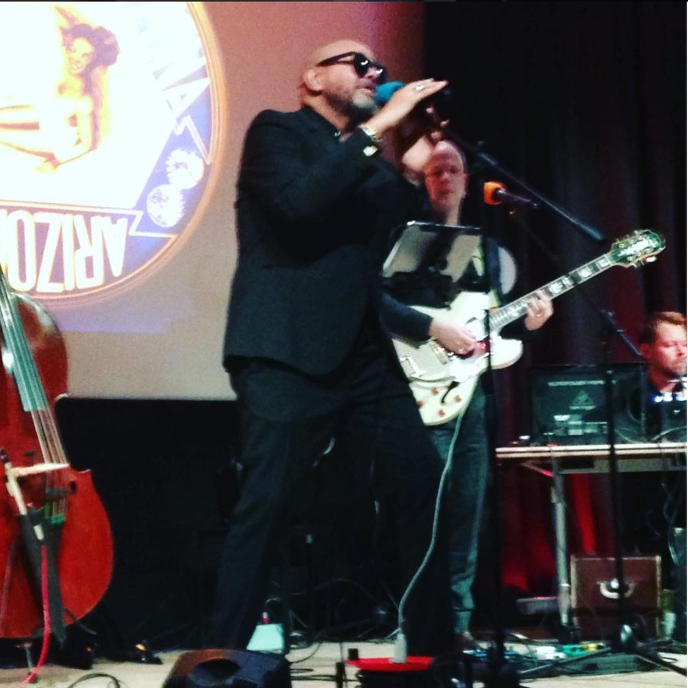Barry Adamson at The British Library