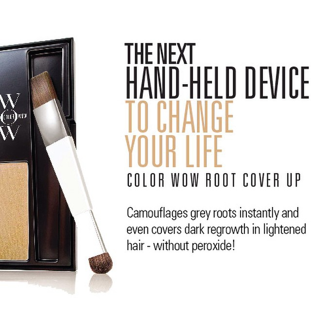 We now carry the best product for temporary root cover-up! Come in today for more details! #colorwow #nomoregray #rootsarefortrees