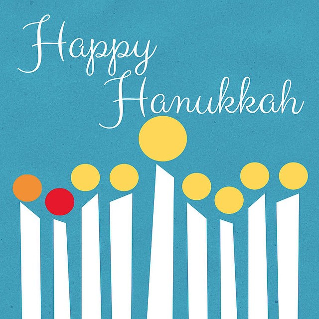 Wish all those that celebrate a very Happy #Hanukkah . May your candles burn long, and your celebration be joyous. May your table be filled with good food and surrounded by great friends!