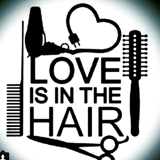 Valentine's Day is on the way! Roses are red, violets are blue, you should come in & get a new hair do! #valentinesday #loveyourlook #loveisinthehair #love