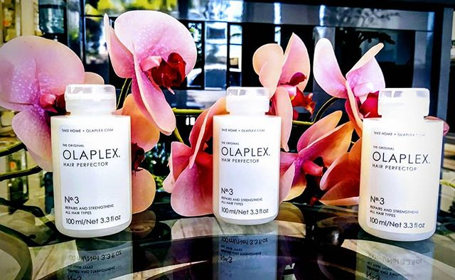 @olaplex  NO. 3 HAIR PERFECTOR ! ! ! Works dynamically to help repair damage to all hair types, and it can also be applied once a week between chemical services to lock-in  the results of any given salon treatment. Discover how fabulous it feels to have incredibly strong, totally healthy hair.  Come into Maurici Salon and get a bottle of Olaplex No. 3 HAIR PERFECTOR while supplies last.