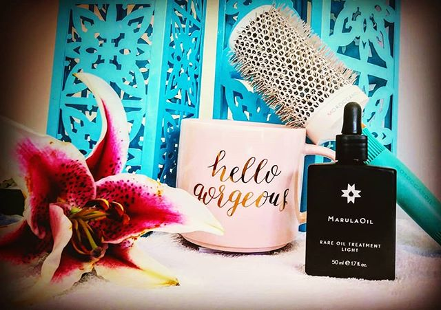 It's Saturday!! Time to make great stories for Monday!! @moroccanoil @raremarula  #saturdayvibes #lakeworth #sfhairstylist