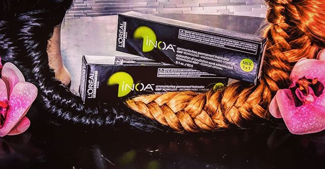 You can't go to the grocery store to get a haircut, so why would you go there for hair color!? @lorealpro #inoa #ammoniafree #lakeworth #palmbeach #sfhairstylist @lorealusa @mauricibda