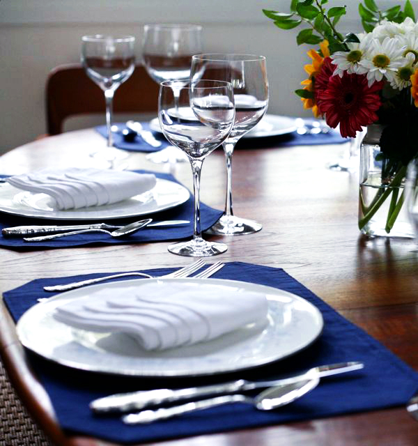 private dining experience in home or on site