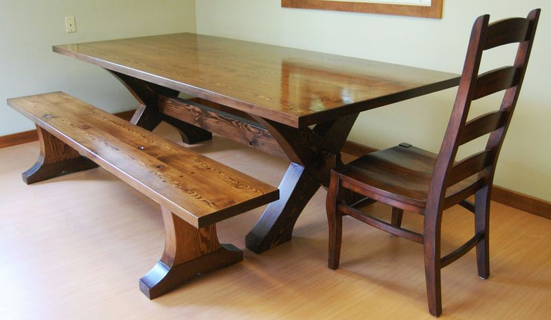 Iron  Wood Custom Wood and Metal Furniture for the home and office.