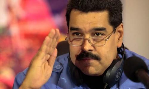 Venezuelan president, Nicolas Maduro.