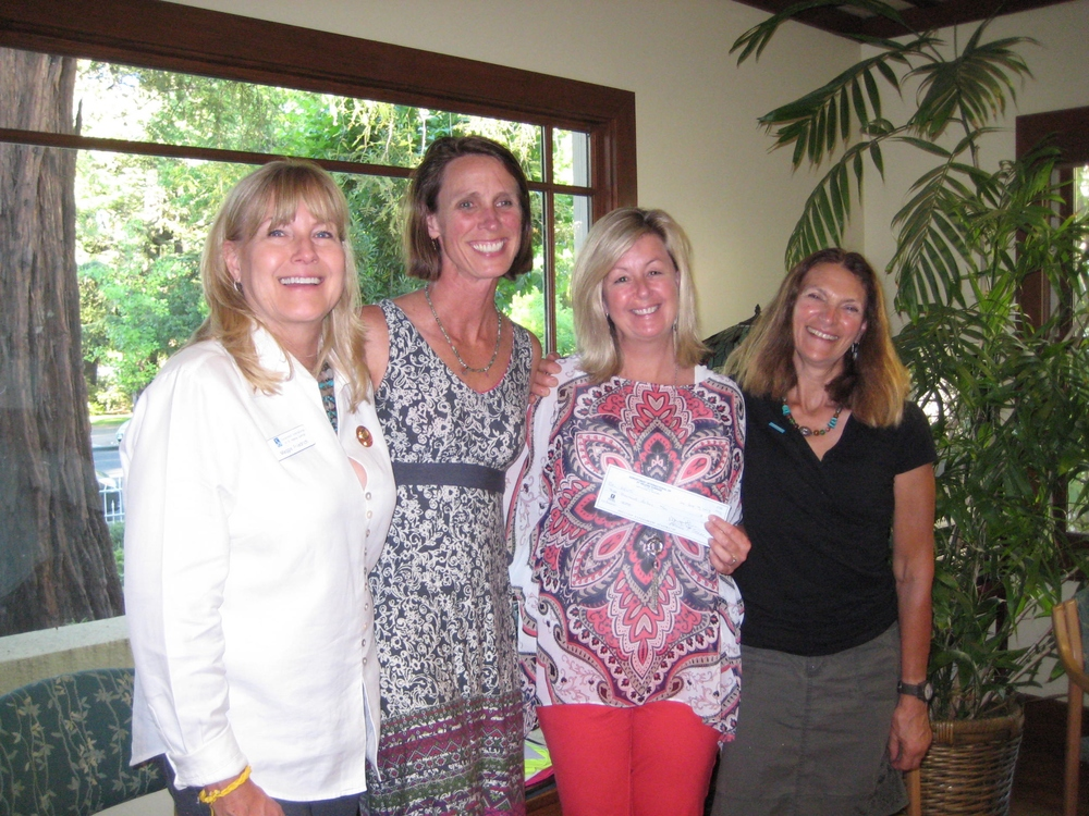 Donations to Girls on the Run Napa & Napa Emergency Women's Services