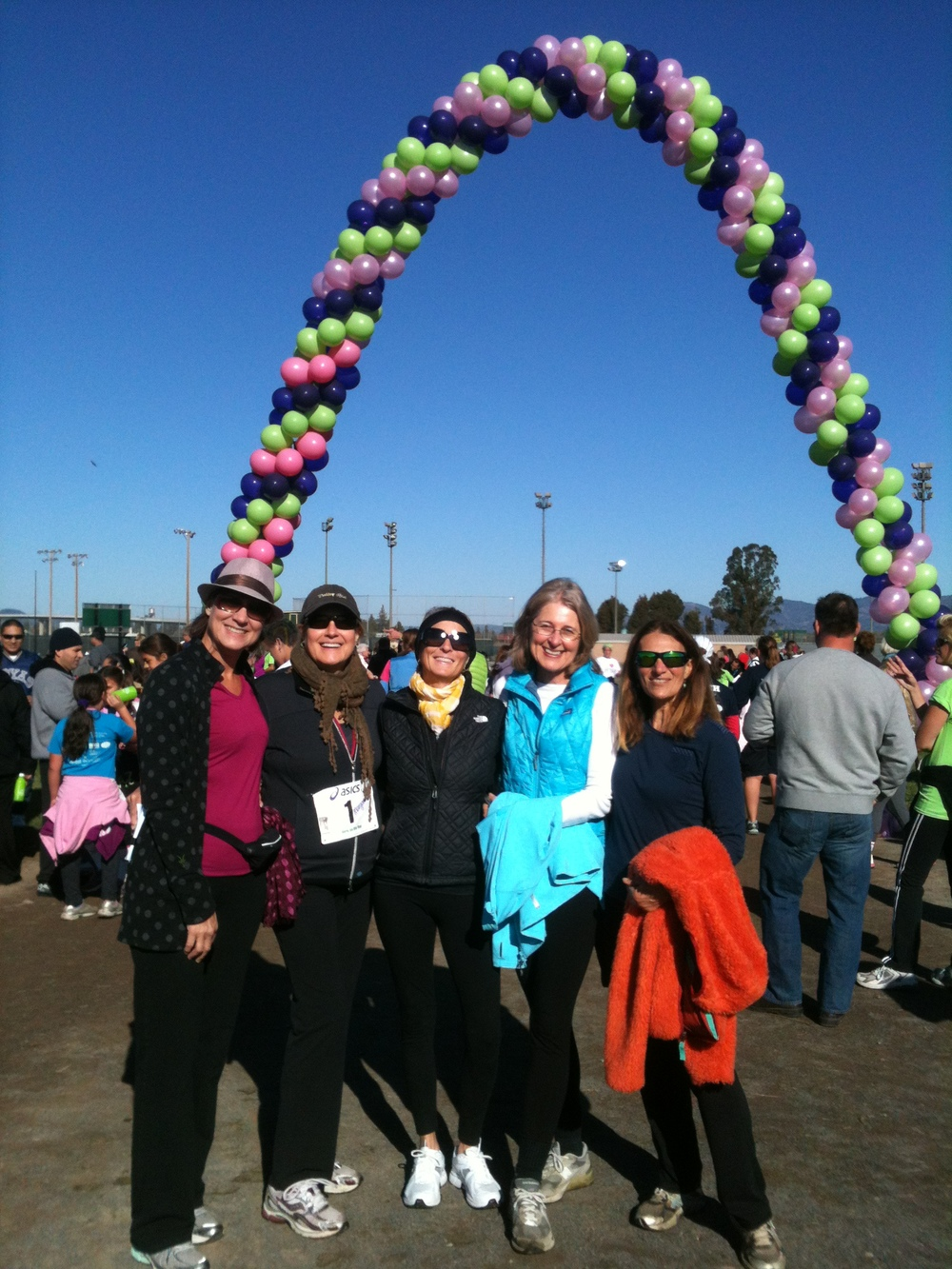 Members participate in the Girls on the Run 5k