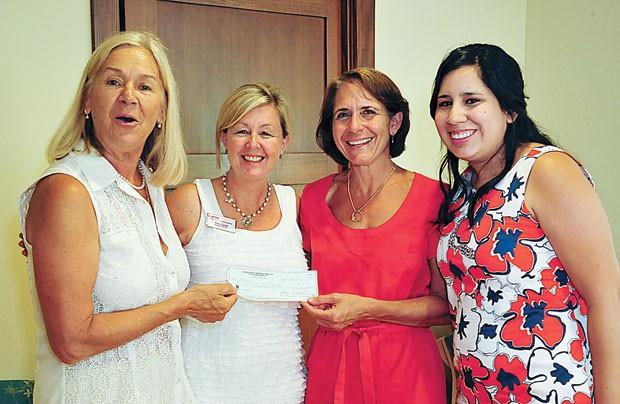 Donation to St. HelenaFamily Center& NEWS