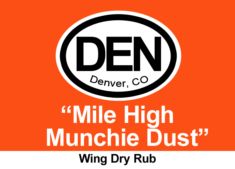 Denver Mile-High Munchie Dust Dry Rub