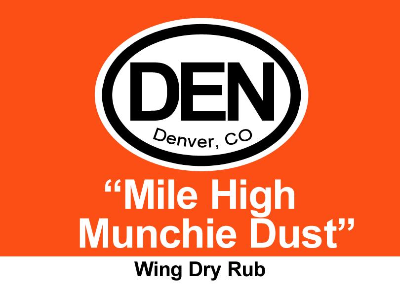 Denver Mile-High Munchie Dust Dry Rub