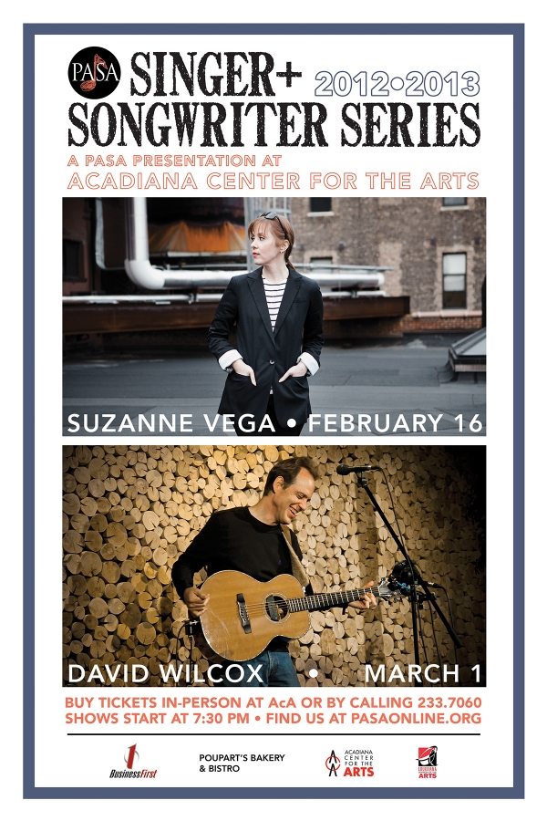 Singer Songwriter Series Poster