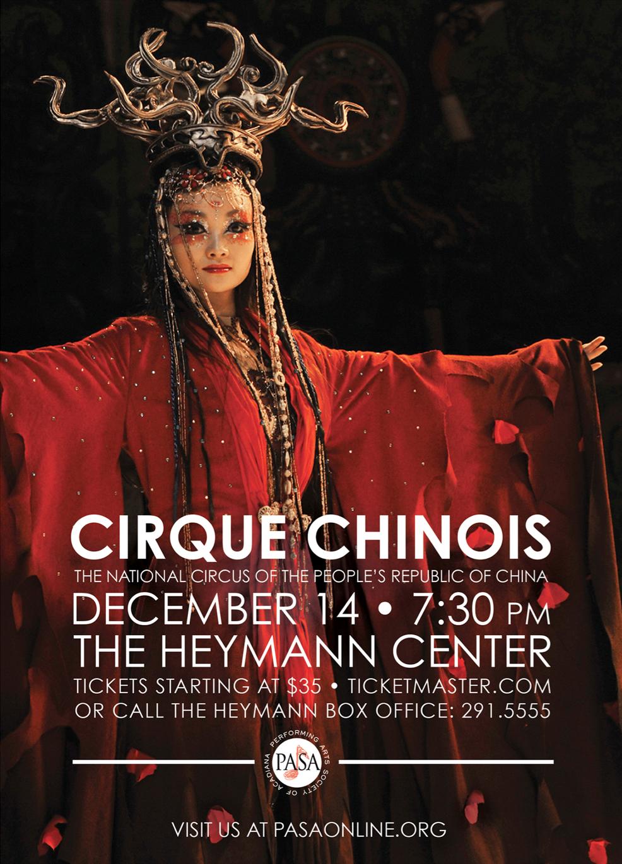 Cirque Chinois postcard