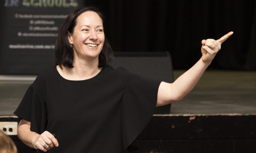 Delivering professional learning for Musica Viva in Sydney, Australia