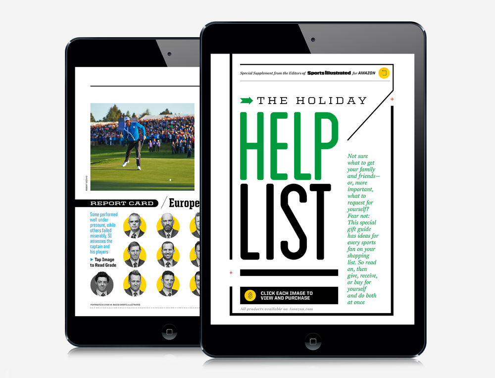 SPORTS ILLUSTRATED iPAD /  UI/UX Design View Projects→