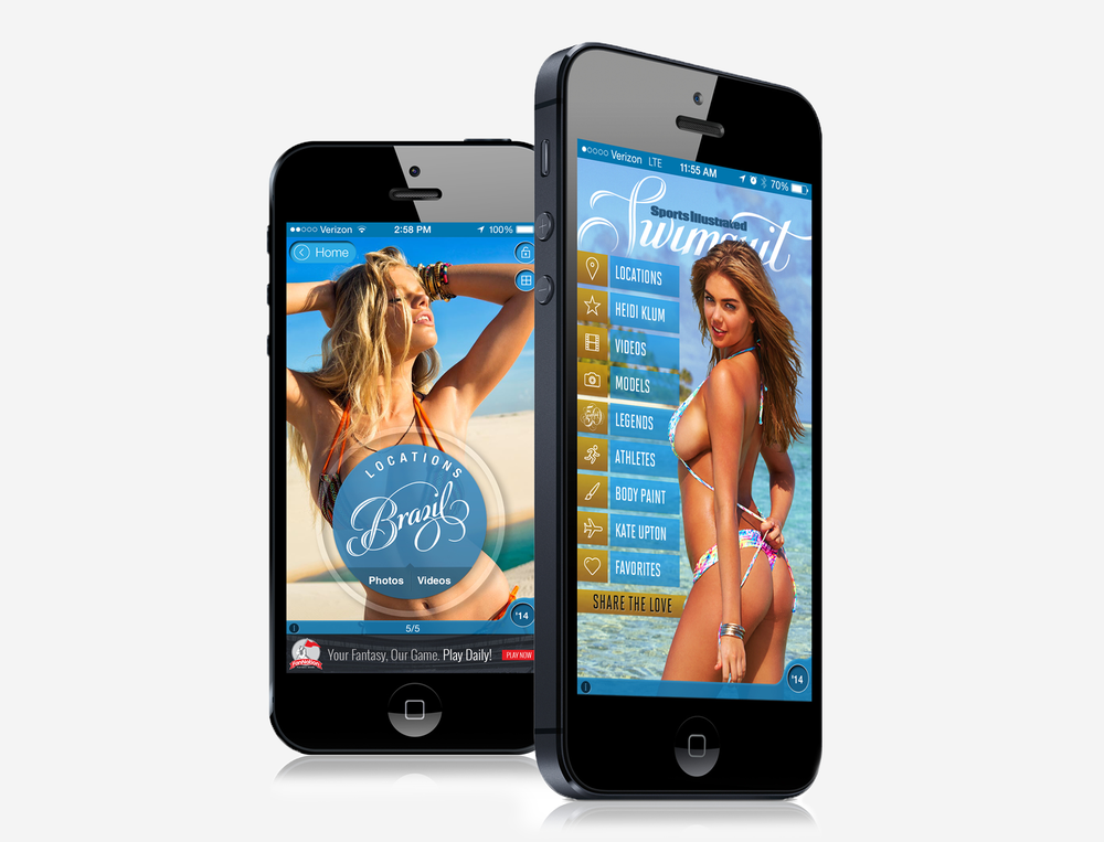 SWIMSUIT MOBILE APP /  Visual Design View Project→