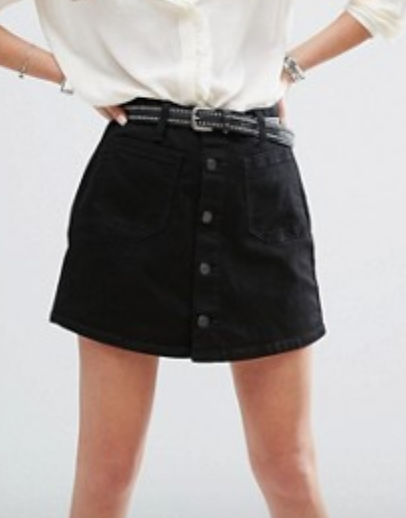 A black button down option? Yes please!