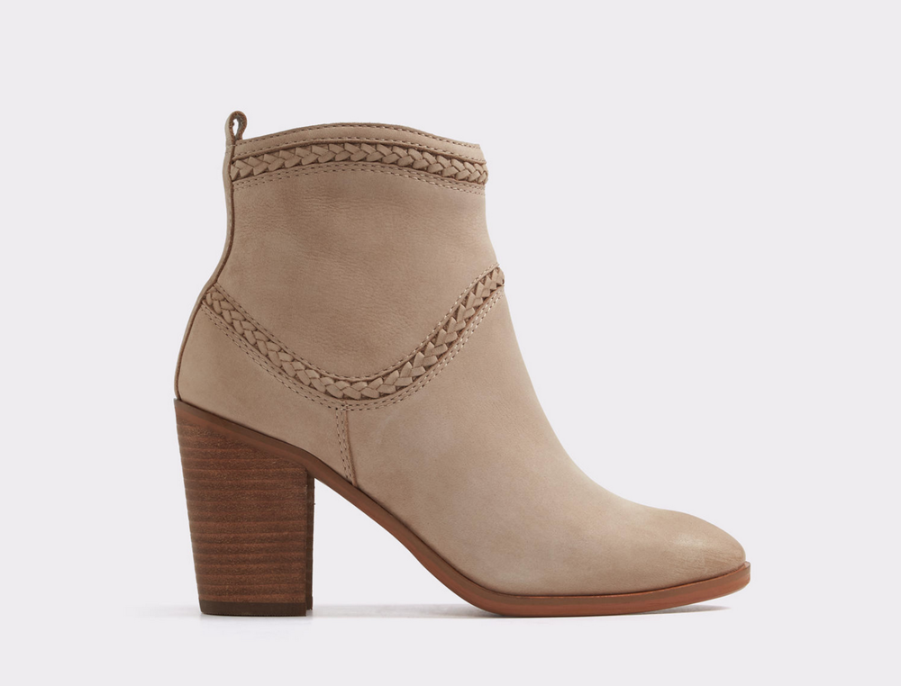 If you don't want to invest in a traditional pair of cowboy boots, these Western-inspired booties are a good alternative.