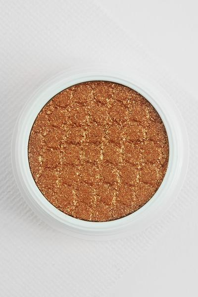 ColourPop Lightning Bug - A super rich and beautiful colour. A swipe of this on your eyelid makes ya baby blues POP!