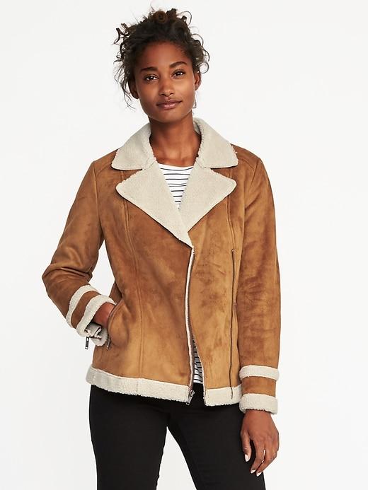 sherpa lined jacket