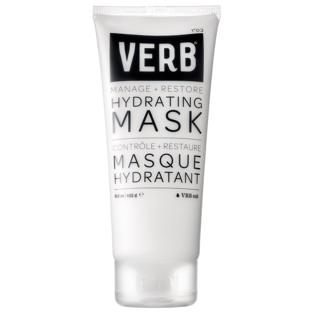 Verb Hydrating Mask - It's only $18 for 6.8 oz. and it's a really gentle and moisturizing mask. It makes your hair feel really manageable and soft. Buy it here.