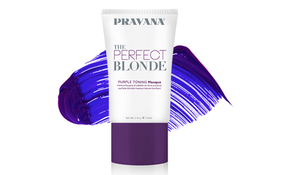 Pravana The Perfect Blonde Purple Toning Mask - If you're a blondie, I highly recommend this toning mask. It works REALLY well at reducing brassiness, but on top of that, it feels super moisturizing like a regular hair mask. Buy it here.
