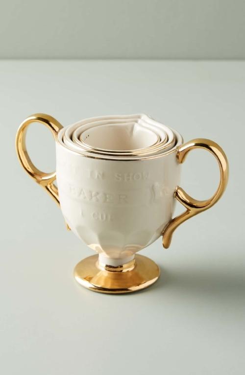 Anthropologie Dorina Set of Measuring Cups