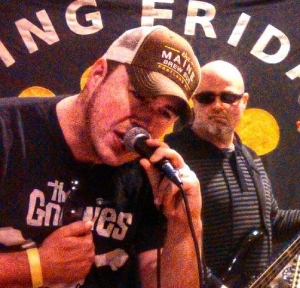 At our last Rhode Island Brew Fest, the band King Friday rocked out while rocking our hats.