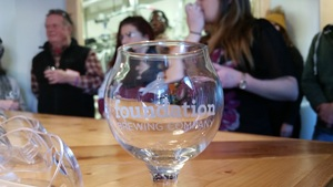 Foundation Brewing Company allowed the group to visit, even though they were in production at the time.