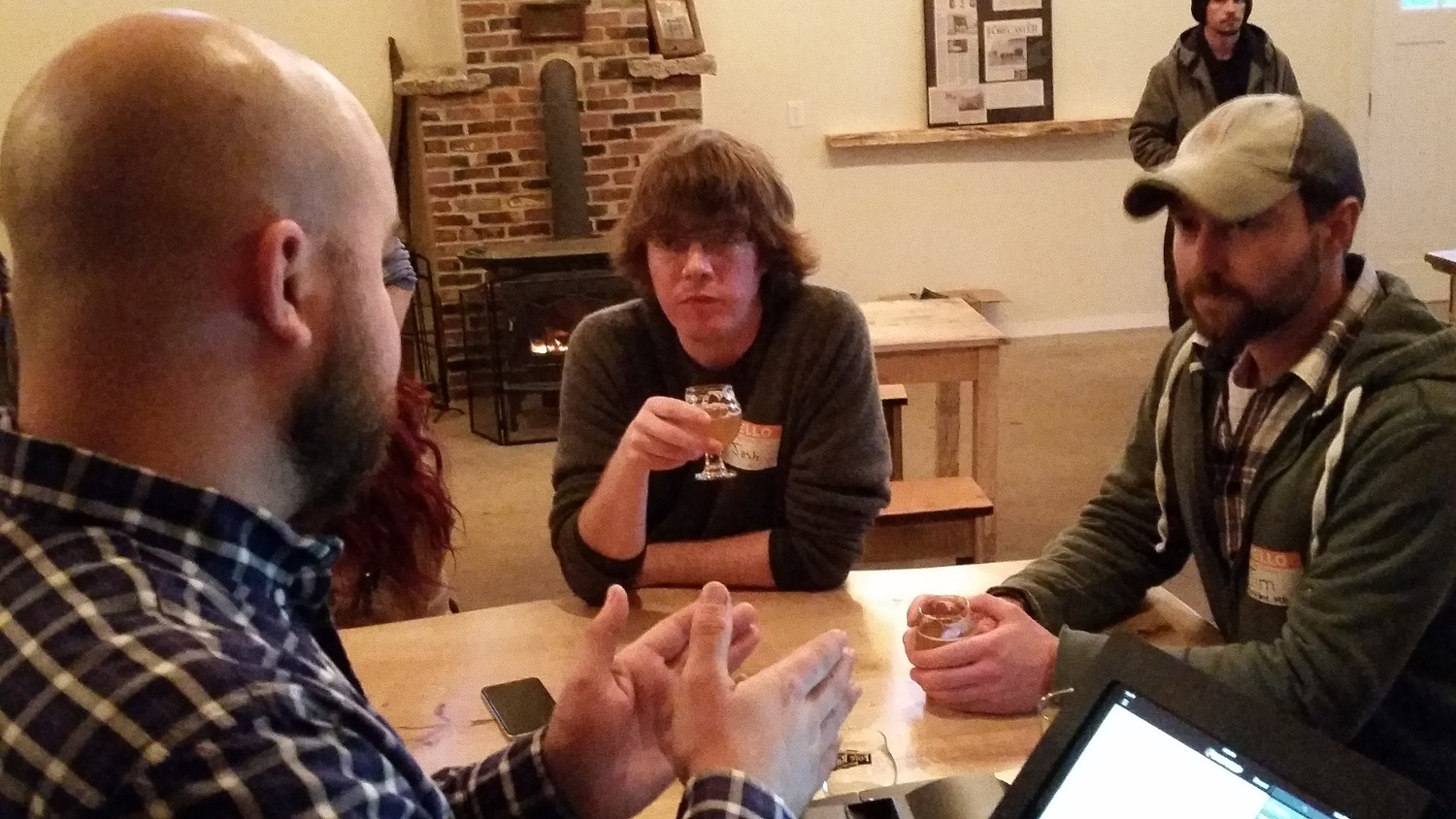 John talks in depth with two of Andy's staff members about Fore River Brewing.