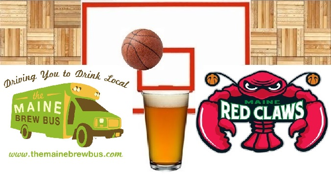 Hops And Hoops Tour - with the Maine Red Claws!