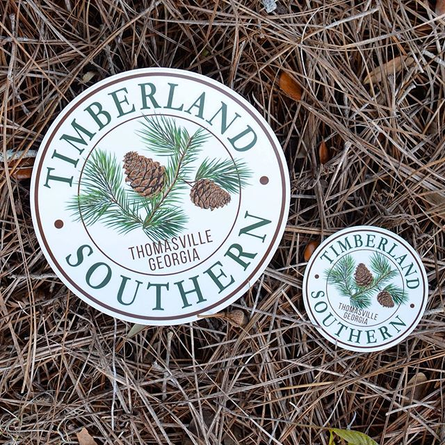 Need a custom decal for your business? We've got you covered! Come by and see us to discuss creating a unique decal with your business logo! #skylinegraphicsmedia #customdecal #customprinting #thomasville #pines #pinecone
