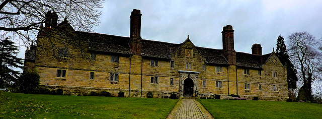 Sackville College, East Grinstead - where J.M. Neale lived and ministered.   By Stephen Brannen