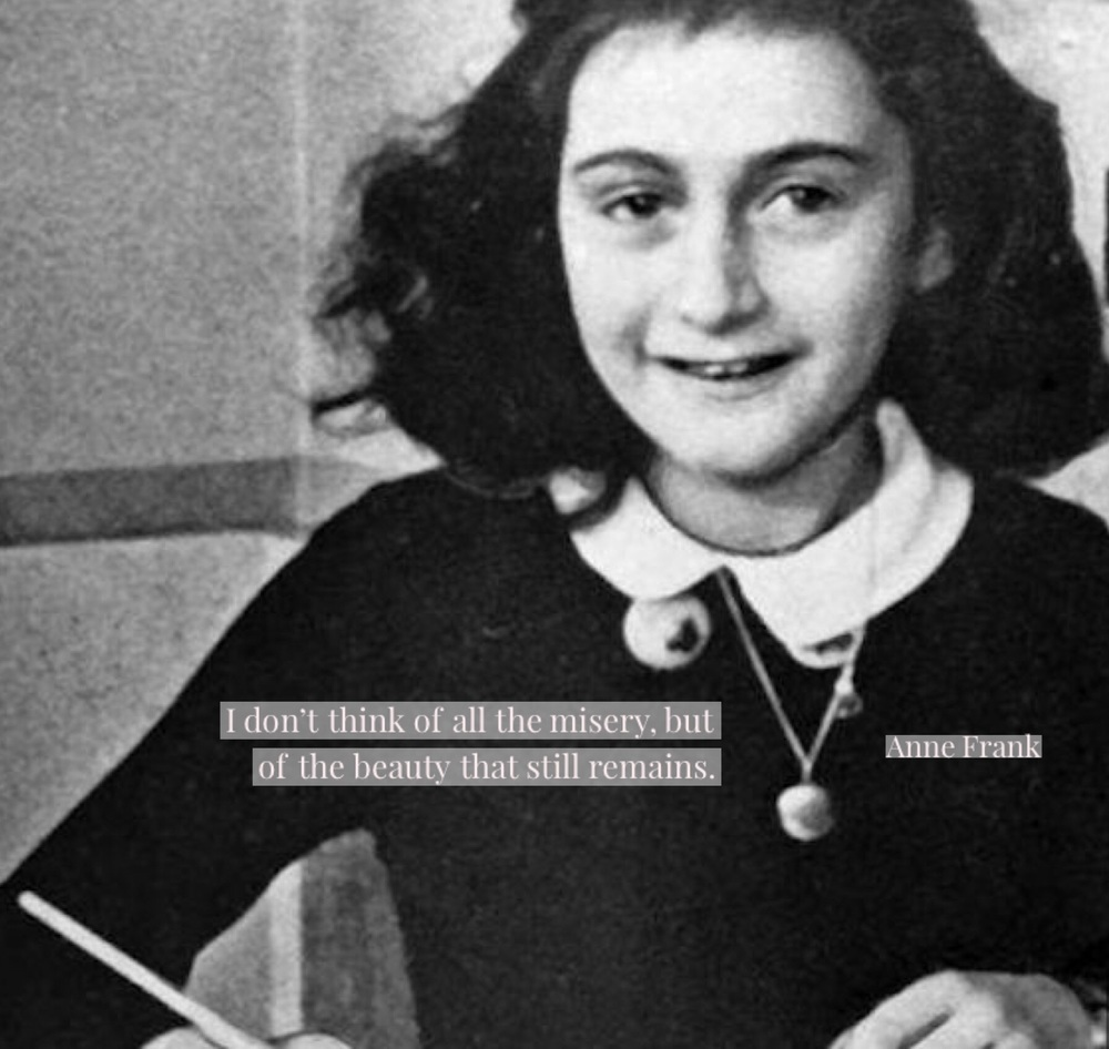 Anne Frank died at the age of fifteen when a typhus epidemic swept through the Holocaust camp where she was imprisoned. She was buried in a mass grave with her sister.
