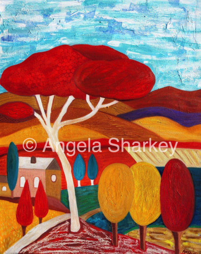 A Song For The Season    Oil/Acrylic on Canvas-