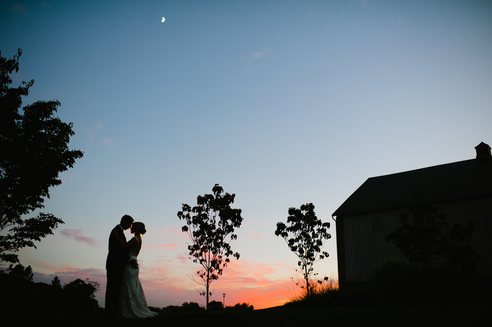 Meridith & Ryan // french creek golf club
