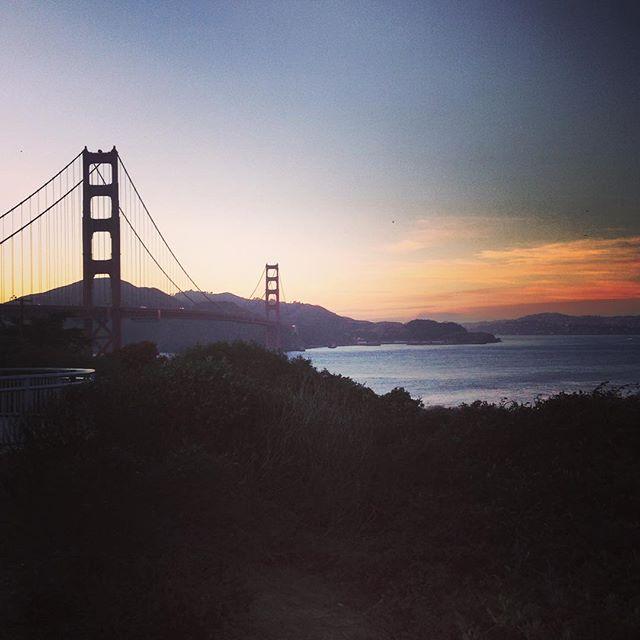 #California #goldengatebridge #sanfrancisco #sf #sunset