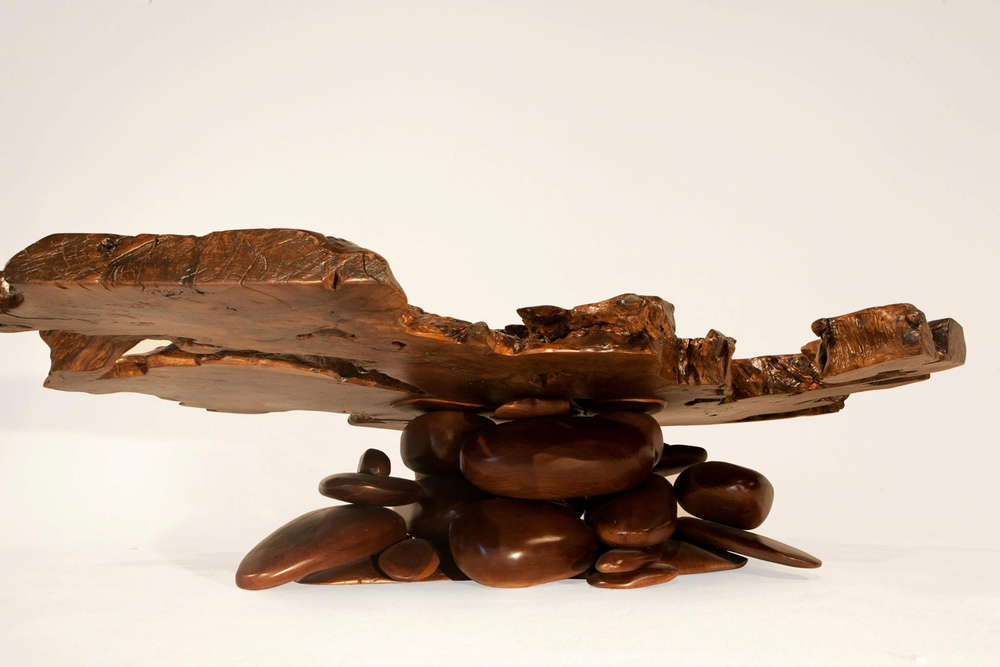 Rock-Pile Coffee Table
