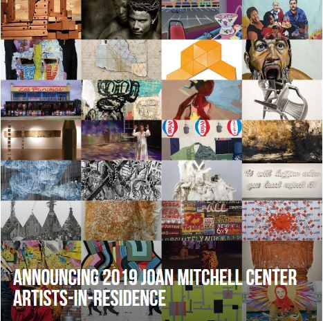 The Joan Mitchell Foundation is pleased to announce the 32 artists who have been awarded residencies at the Joan Mitchell Center in New Orleans for the coming year. The Artist-in-Residence program has become a vital realization of artist Joan Mitchell's vision to provide artists with the necessities of time and space to create their work.      Marianne Desmarais , New Orleans, LA