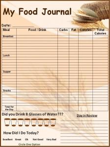 30 day experiment food journal david shoup food journal template 224x300 maxwellsz