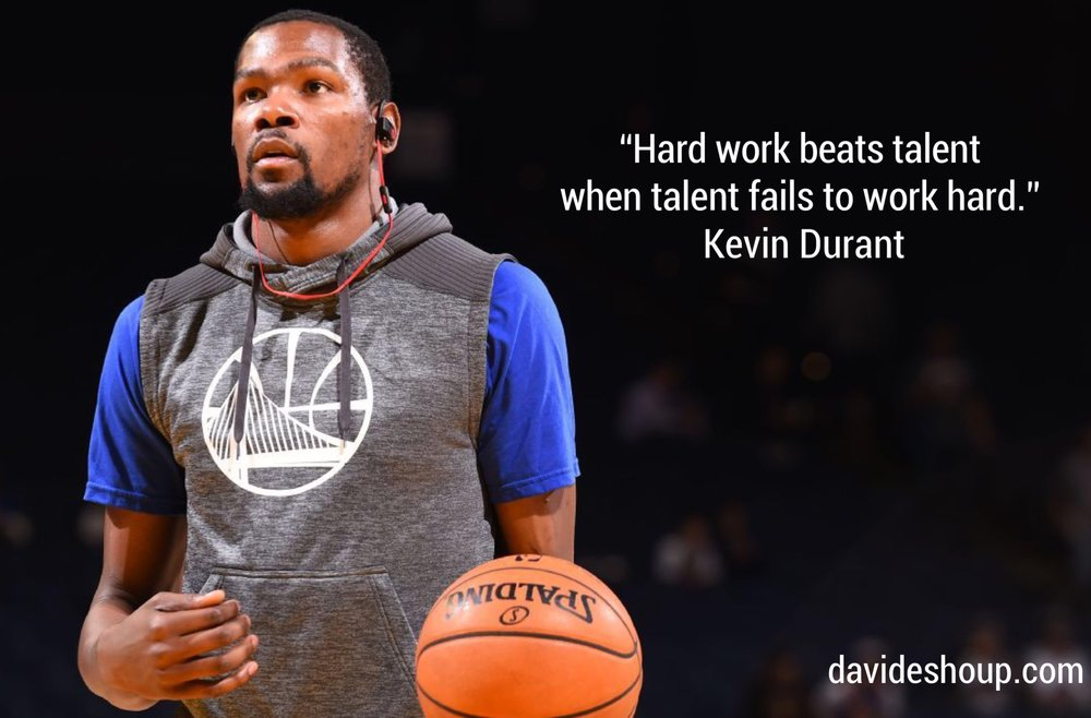 Hard Work Beats Talent - K Durant.JPG
