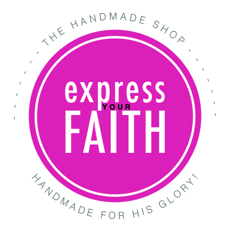 Christian handmade products by www.chamelscreations.com - express faith in the everyday!